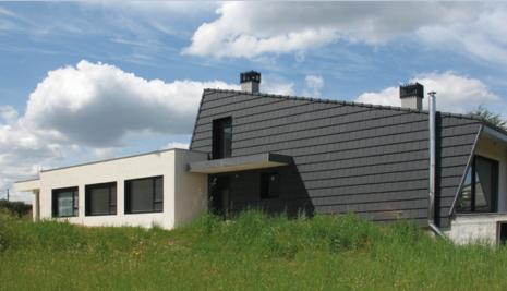 La cubierta se convierte en fachada