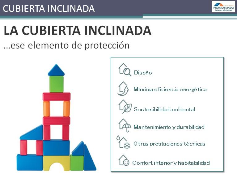 Promotejado participa en un ciclo de jornadas sobre cubierta inclinada: diseño, eficiencia energética y sostenibilidad