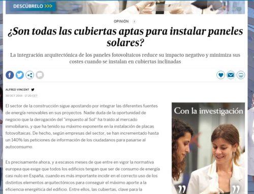 ¿Son todas las cubiertas aptas para instalar paneles solares? – Tribuna de Opinión Promotejado en El País