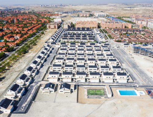 Cerca del 30% de los edificios construidos en España en 2018 tienen cubierta inclinada