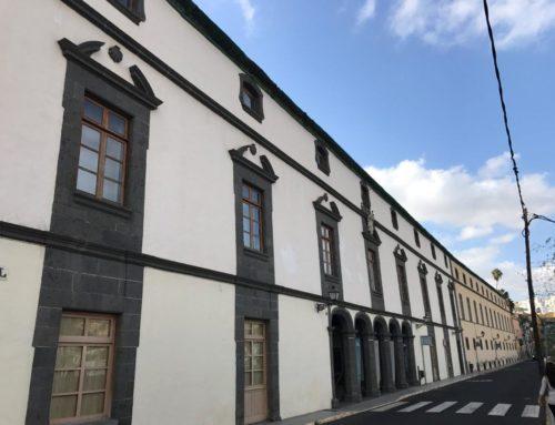 Innovador proyecto de rehabilitación energética de la cubierta inclinada del hospital San Martín de Vegueta, de 234 años de antigüedad
