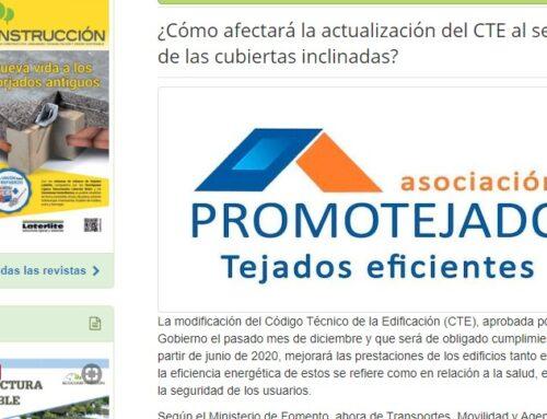 ¿Cómo afectará la actualización del CTE al sector de las cubiertas inclinadas? – Artículo Ecoconstrucción